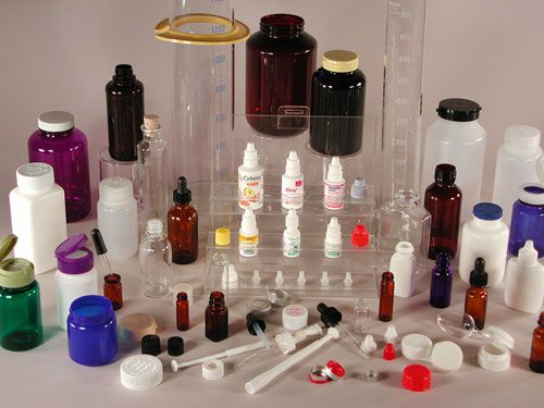 ظروف پلاستیکی دارویی