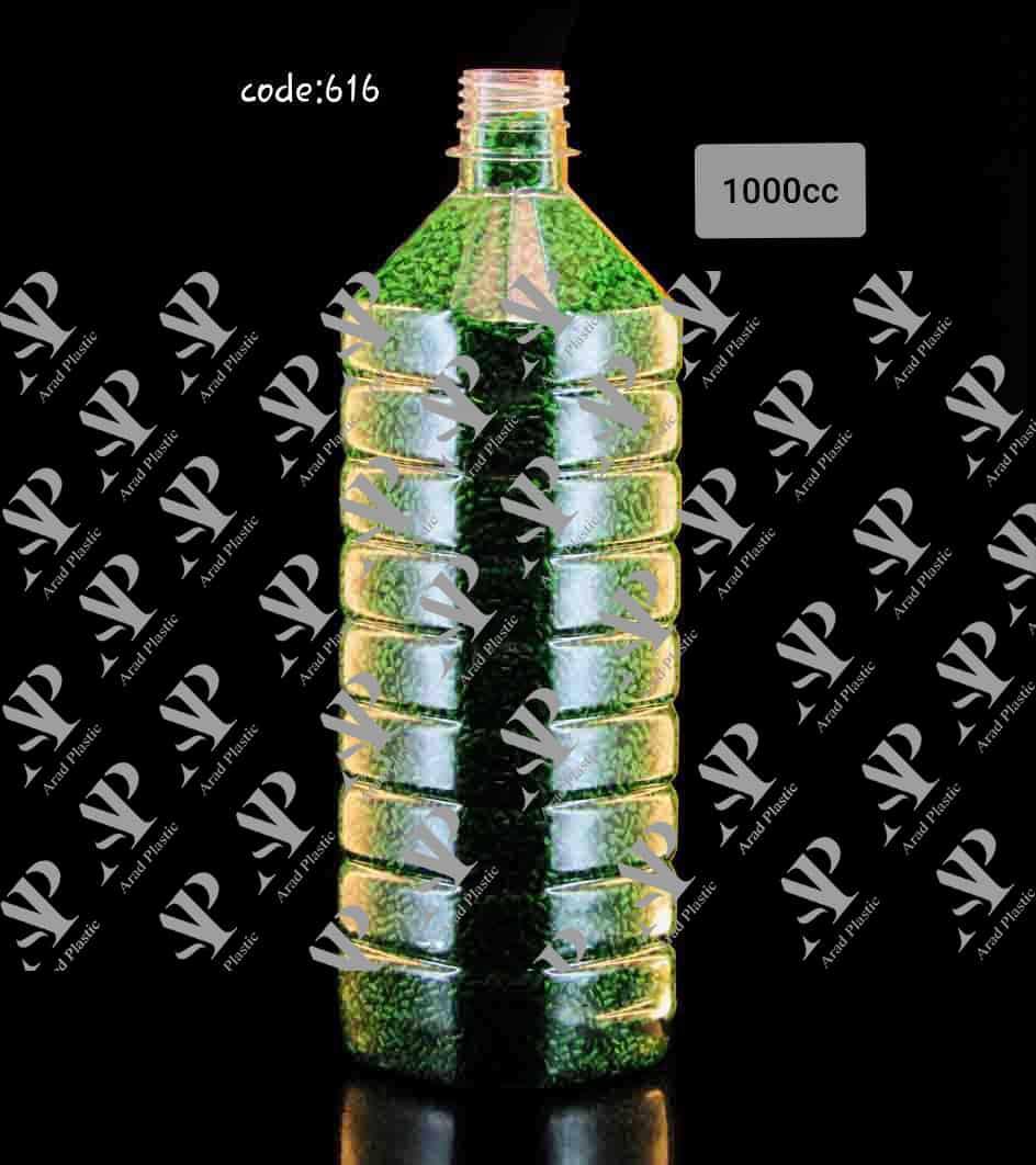 بطری پت رنگی 1 لیتری