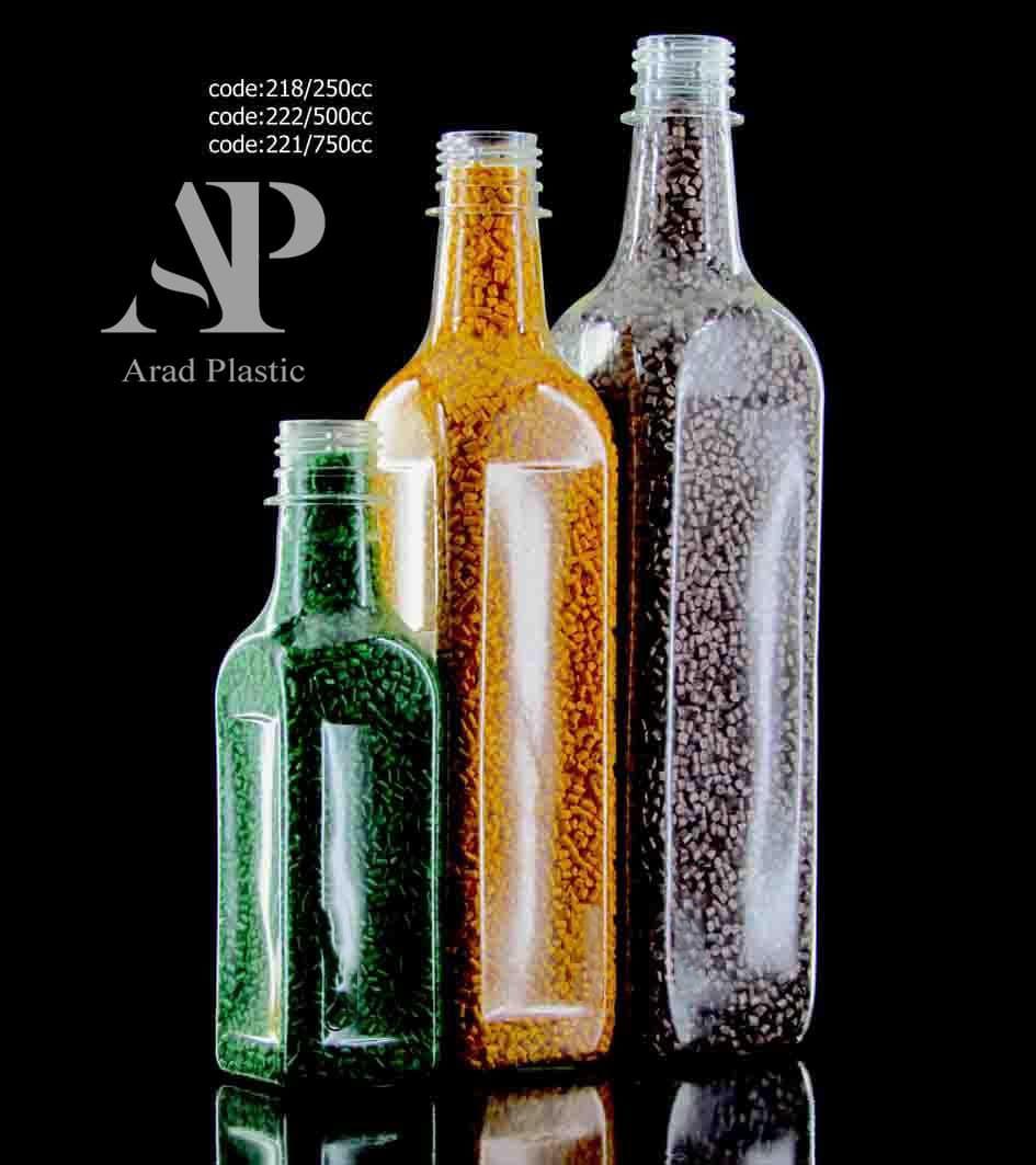 بطری پت زیتونی