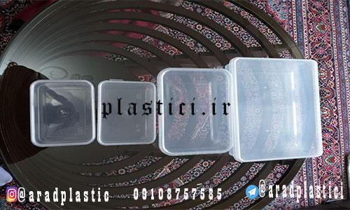 ظرف پلاستیکی خرما