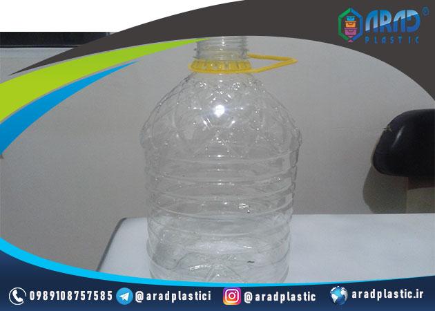 بطری پت 4 لیتری دهانه 45